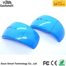 WM-11 Drivers Fcc Standard 3D Arc Shape Foldable Mini CPI 2.4Ghz USB Wireless Optical Mouse