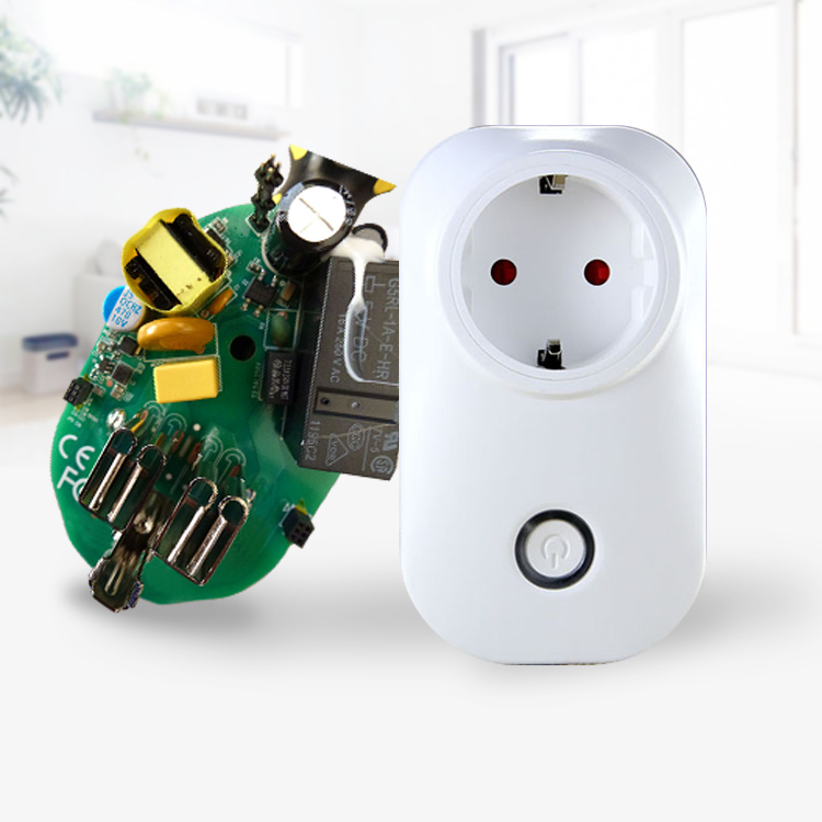220V 3 Pin Smart Wifi Plug Socket With Power Metering