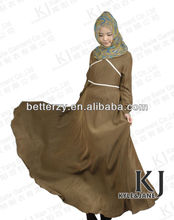 KJ-AM47 100% cotton jersey new designs dubai abaya