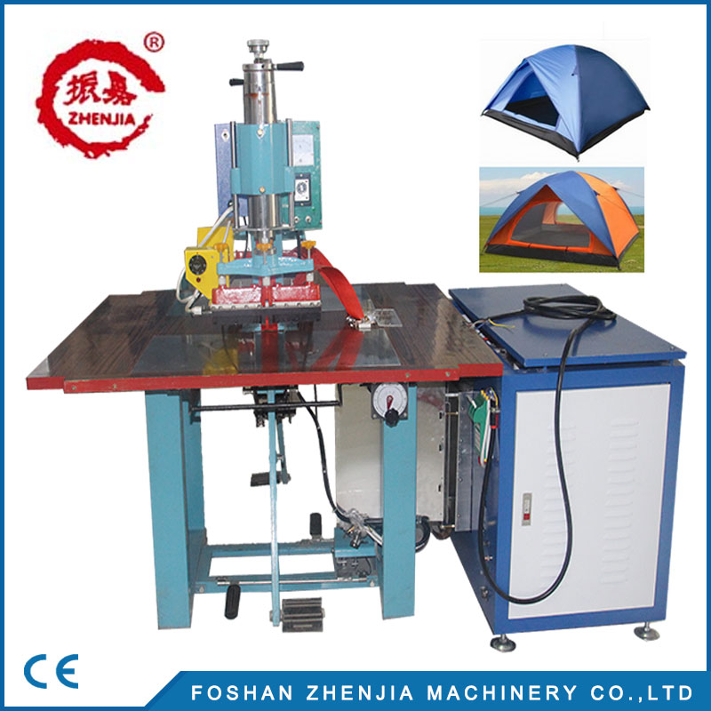High frequency pvc tent welding machine with Zhenjia