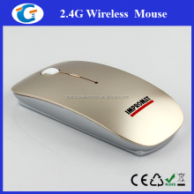 Super slim computer wireless mouse for laptop