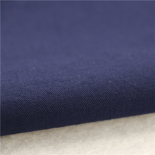 21x21+70D/140x74 264gsm 144cm deep sea blue double cotton stretch twill 2/2S women uniform fabric cotton clothing fabric