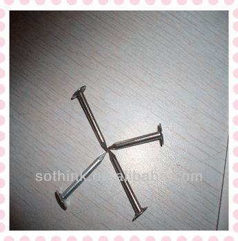 Nails Carpenter Flat Head Roofing Nail Made In China