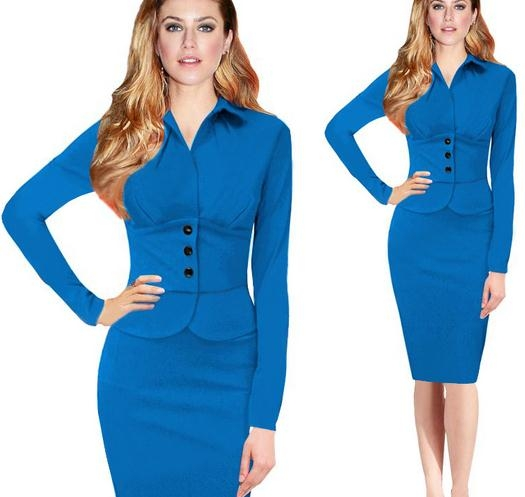 england style high end long sleeve women suit tailored