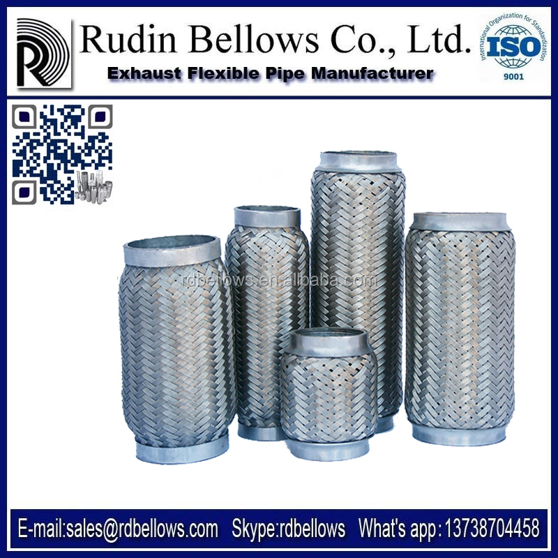 Ruian Rudin exhaust flex pipe 42x150/330 corrugated tube