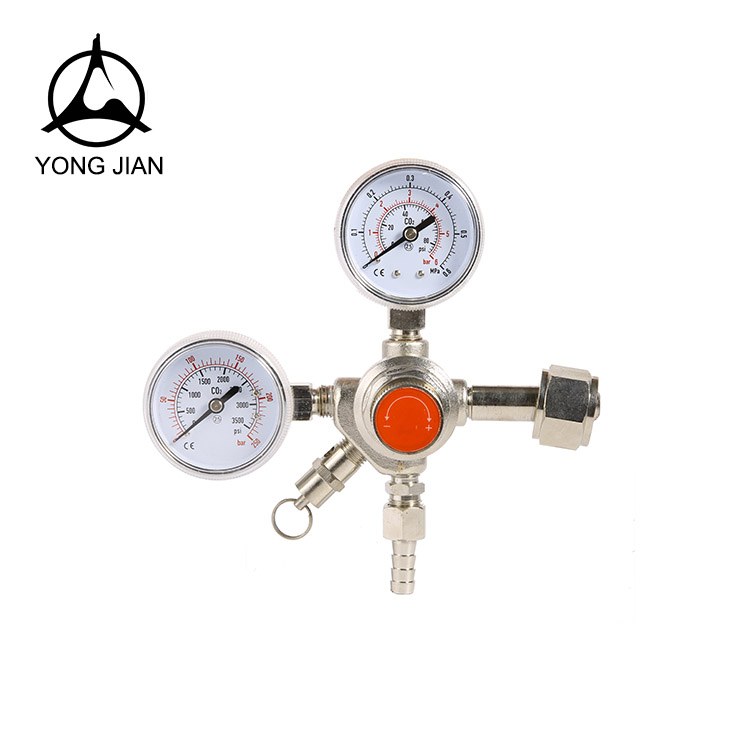 CO2 PRESSURE REGULATOR,BEER TYPE REGULATOR