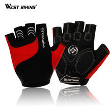 XINTOWN 3D Gel Pad Short Finger Gloves Unisex Dry Non-Slip Shockproof Sport Soft Road Mountain Half Finger Cycling Gloves