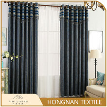 Designer hot selling classical woven latest curtain styles