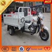 new type of gasoline three wheel cargo motorcycle