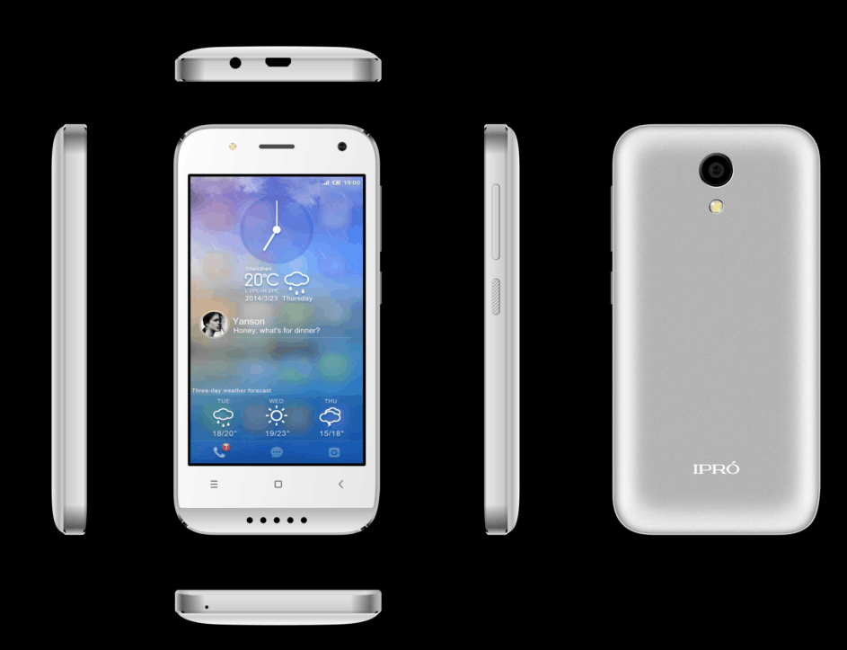 IPRO wholesales Latest 4.0 inch 4G 1GB RAM 8GB ROM OEM Smartphone city call mobile phone
