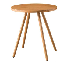 Bamboo <strong>furniture</strong> round kitchen modern dining table dining room table