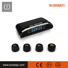 TPMS Solar-powered External Automotive Tire Pressure pressure Monitoring Alarms Car tpms