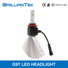 Small Size Better Lighting Pattern Brilliantek H11 H7 H1 Auto Car LED Headlight 35w