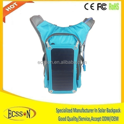 10000mah travel solar mobile charger bags with portable waterbag inside