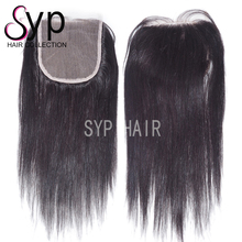 Brazilian Virgin Human Straight Hair 99j Color Lace Closure 5x5 For Long Fine Hairstyles