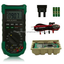 Mastech MS8268 Digital Multimeter Auto Ranging DMM Sound / Light Alarms Resettable Fuse Capacitance Frequency Measurement