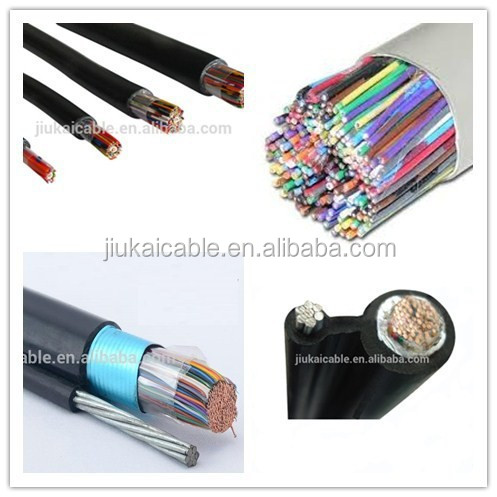 jelly filled 5 pair drop wire waterproof telephone cable