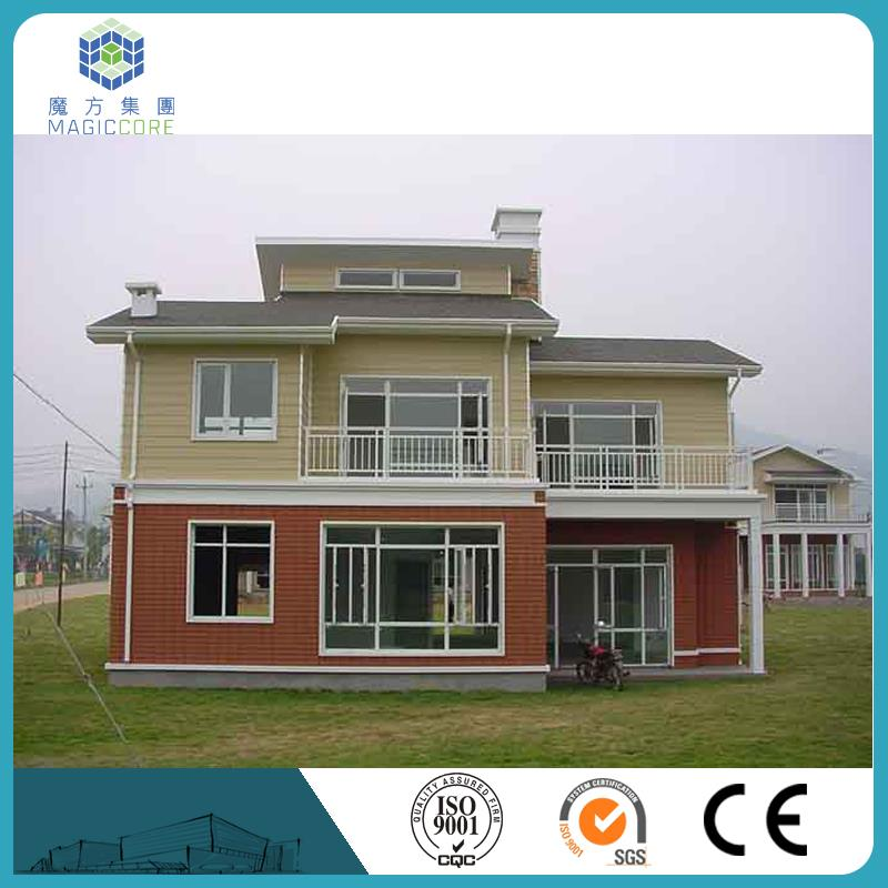luxury prefab villa house designs hot sale modern economic prefabricated houses and villas