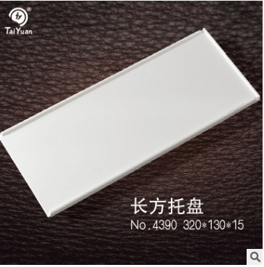 New design unbreakable plastic melamine sushi serving tray
