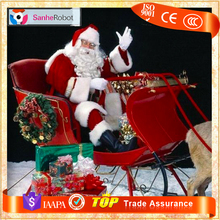 SANTA CLAUS!! Outdoor/Indoor Christmas Decorations,And Lighted Deer