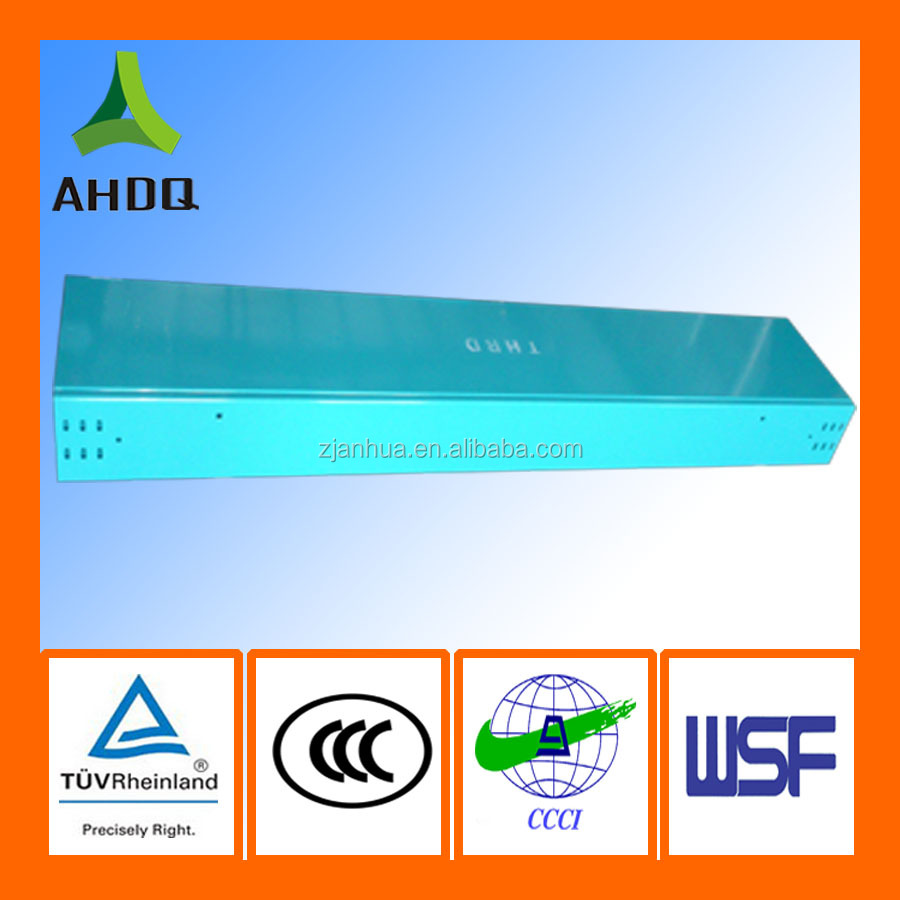 Plastic spraying trough cable tray