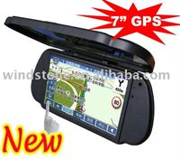 7inch GPS navigation system bluetooth reverse camera +Bluetooth+AV IN