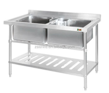 Stainless Steel Double Sink, Sink Cabinet Kitchen, Hand Wash Sink Prices