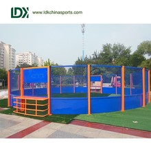 International standard steel soccer cage football cage
