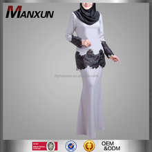 Latest Designs Abaya Hot Sell Baju Kurung Fashion 2017 New Model Baju Kebaya In Malaysia Long Dress For Women Muslim