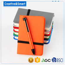Office stationery cheap notepad custom with ball pen