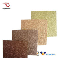 Brown glitter cardstock paper gift wrapping paper for decoration