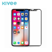Good quality! 9h hardness 4D premium mobile phone tempered glass screen protector for Iphone X