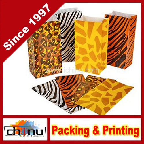 Wild zoo safari Animal print gift and goody bags (220120)
