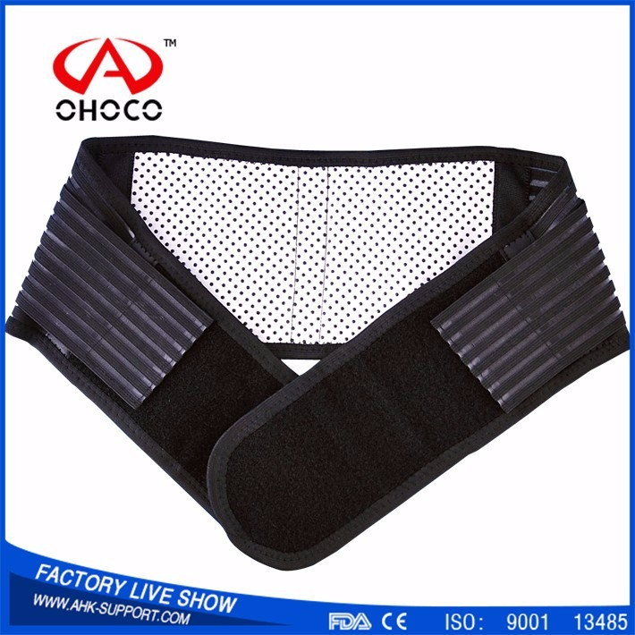 Hot sales waist support lumbar support belt back brace tourmaline with CE & FDA (Factory)