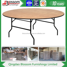 wooden Foldable Round Banquet Table