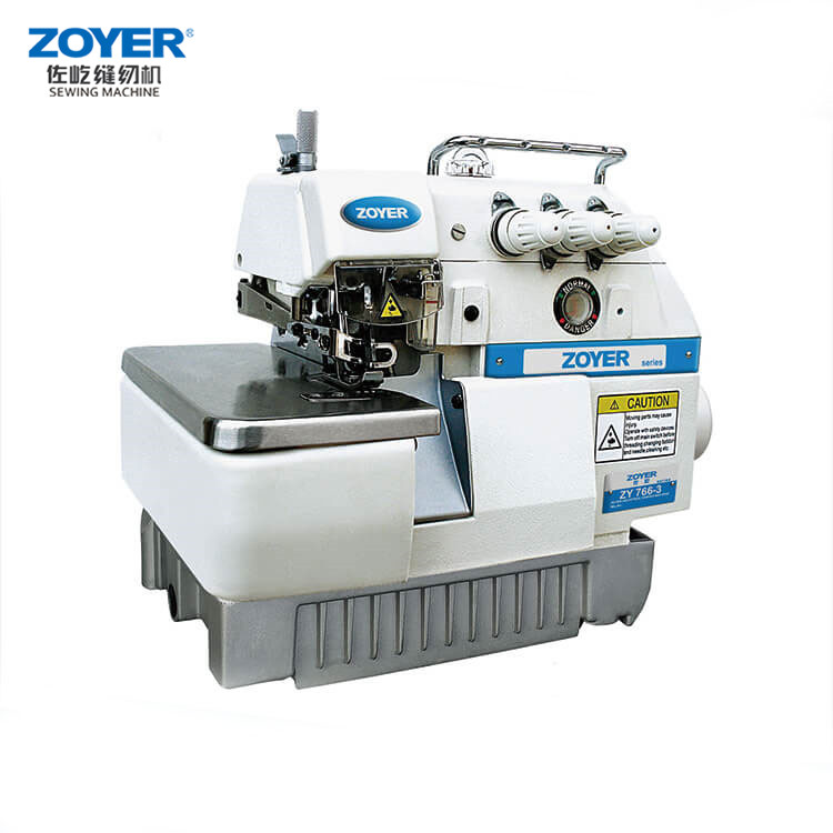 ZY766-4 Zoyer 4 Thread Overlock Sewing Machine 747F