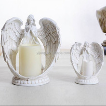 Fashion Beautiful Angels Standing Resin Candleholder Table Candlesticks