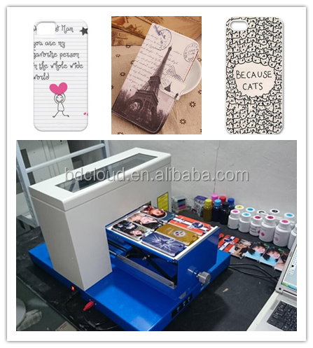 home sticker card printing machine ink jet customized gifts printer
