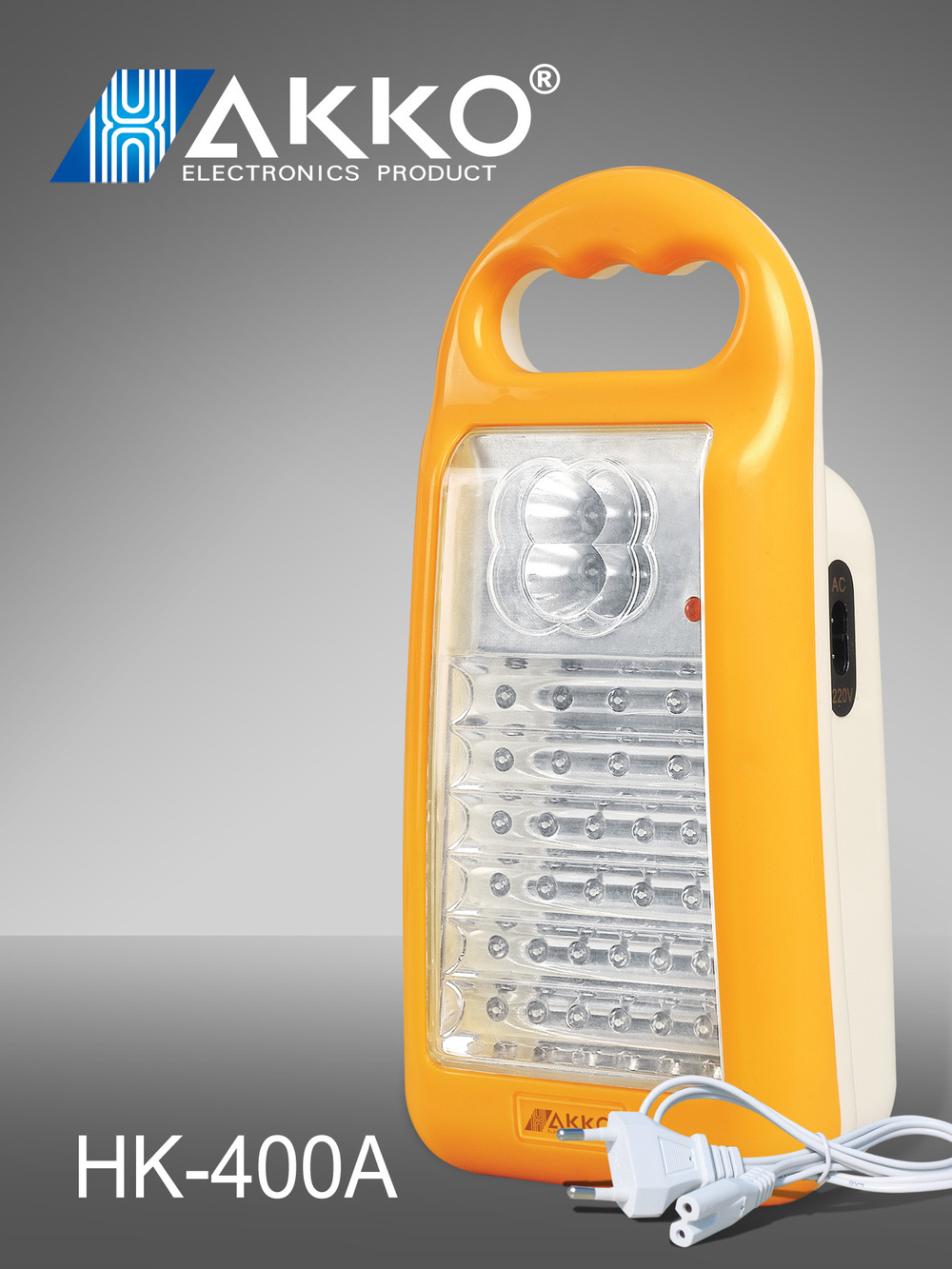 Lead-acid Battery Type and LED Bulb Type emergency lamps rechargeable