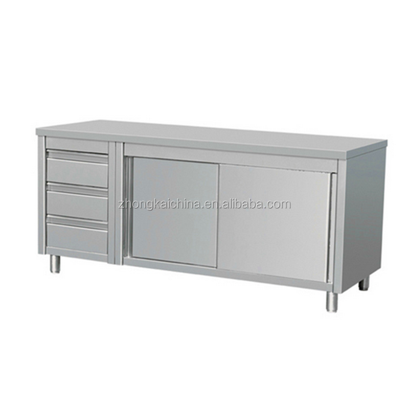 Restaurant Stainless Steel Cabinet/ Commercial Used