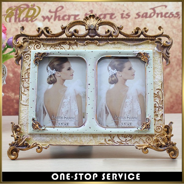 High quality retro resin picture photo frame gifts photo frame