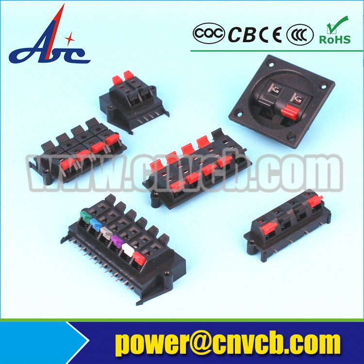 Multifunctional carbon fiber plug in type terminal block connector