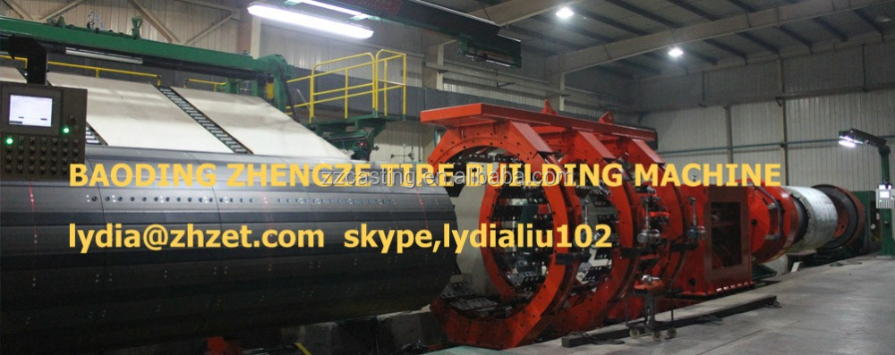 Car Truck Tractor Tire Tyre Making Machine
