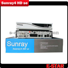 Satellite TV Receivers HD TV 400CPU Sim 2.10 Card S/T/C Triple Tuners SR4 Sunray4 800se with Wifi