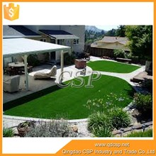Non filling high density professional paintball field artificial grass