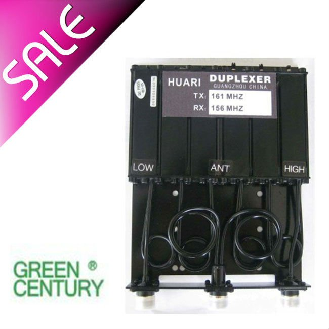 two way radio UHF 6 cavity duplexer for radio repeater