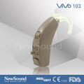 Best sound quality analog BTE hearing aid with N-T-O Switch VIVO 103