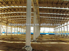 light portable structural steel frame warehouse for sale