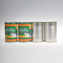 China supplier canned wild mackerel fish