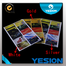 Yesion Excellent Inkjet Printing PVC Card No-lamination Sheet Of Instant Printing Card